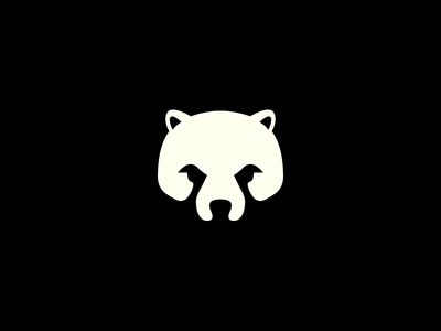 Don't mess with the bear! bear negative space crislabno
