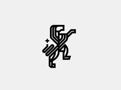 Lion // Mark icon lion symbol logo crislabno