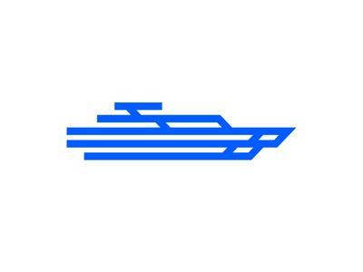 ConnectedBoat logo symbol mark connectedboat crislabno