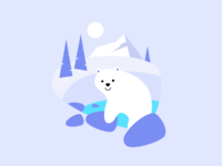 HB illustrations series: Polar
