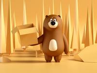 Hungri the bear