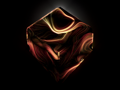 Reborn Styleframes reborn personal dark skull redshift houdini xparticles render c4d 3d