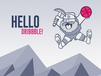 Hello Dribbble Mile-Hi Debut