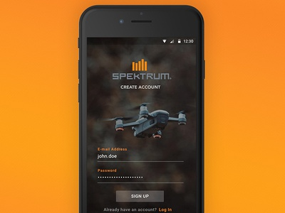 Drone Configuration Mobile App Re-Design