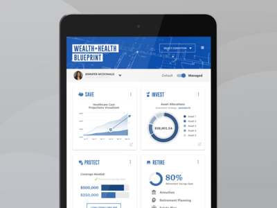 Blueprint Financial Advisor Tool for Clients w/ Chronic Illness