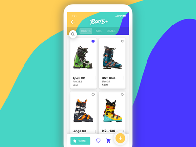 Boots+ Mobile Ecommerce UI Design