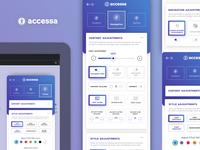 Accessibility Plugin Widget Mockup - accessa