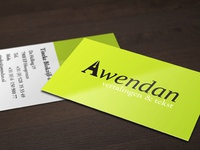 Awendan identity design