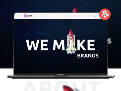 Odear - Multi-Concept Creative WordPress Theme wpml wordpress theme woocommerce shop portfolio page builder odear multi-concept multi layout freelancer creative agency