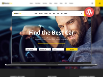 Rentacar - Car Rental / Listing WordPress Theme transportation rental rent a car limousine limo car shop car rental car hire car booking car automobile airport transfer