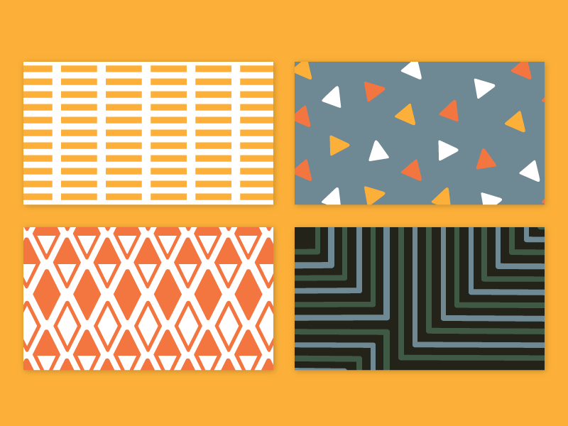 Axle Business Card Patterns by Jessica Krcmarik - Dribbble