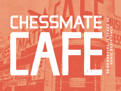 Chessmate Facebook Banner historical 60s poster font typeface detroit typography
