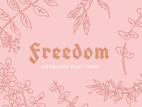 Freedom Flat Iron Packaging
