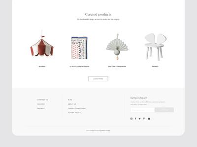 e-commerce design for lifestyle brand