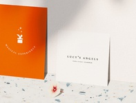 Lucy's Angels brand collateral