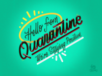 Hello from Quarantine