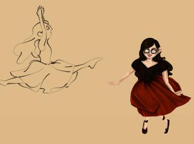 character design vampire girl
