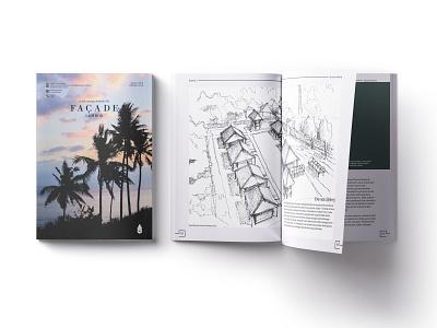 """""""Facade"""" Architecture Excursion Book Documentation book design design book layout design book cover documentation book excursion architecture facade"""