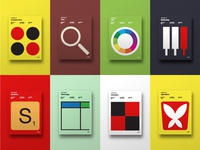 Minimal Board Game Posters