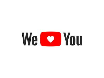 We Love You(Tube) gun violence logo guns sad google heart shooting love youtube