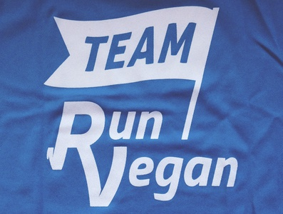 Run VeganTeam logo
