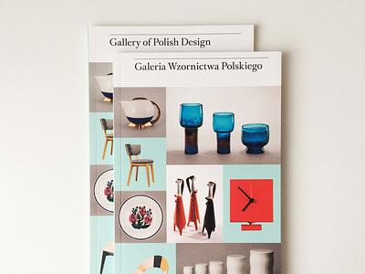 Gallery of Polish Design publication design publication