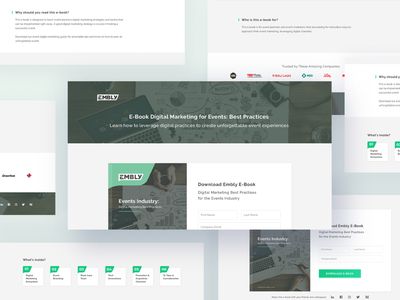 Embly Promotional Landing Page