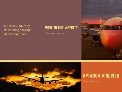 Make your journey happening through Avianca Airlines
