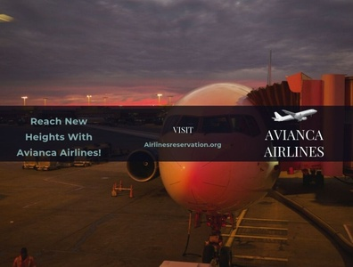 Reach New Heights With Avianca Airlines!