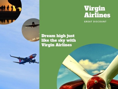 Dream high just like the sky with Virgin Airlines