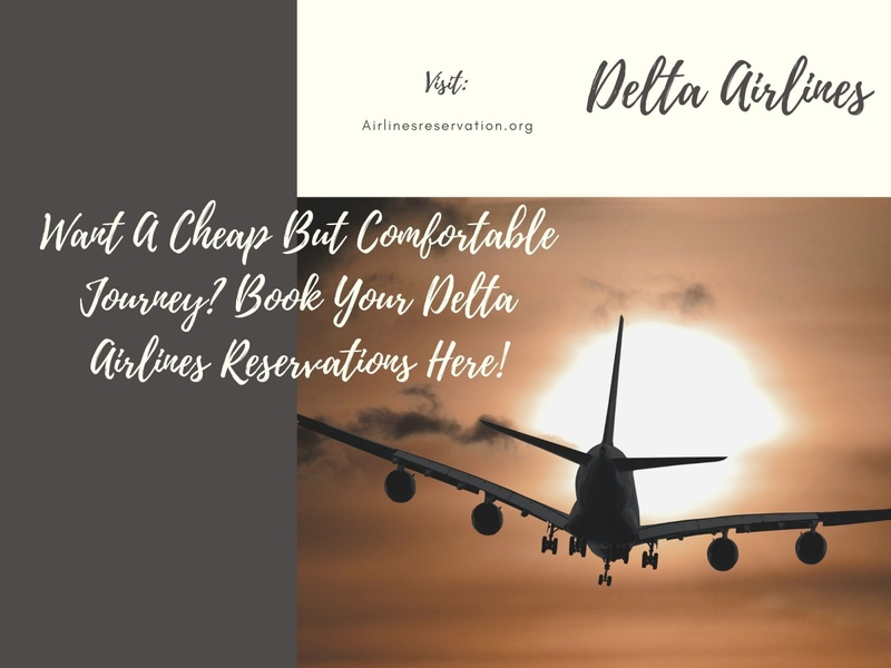 Delta Airlines Reservations