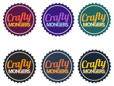 Crafty Mongers illustration sketch identity
