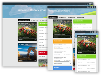Modular Learning Management System