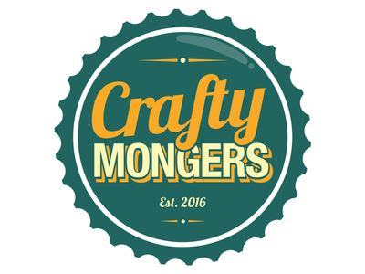 Crafty Mongers - Identity [Final] identity sketch illustration