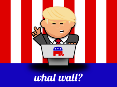 What wall?