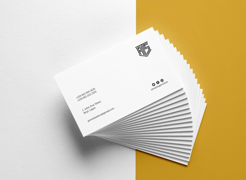 Amazing Services Cards