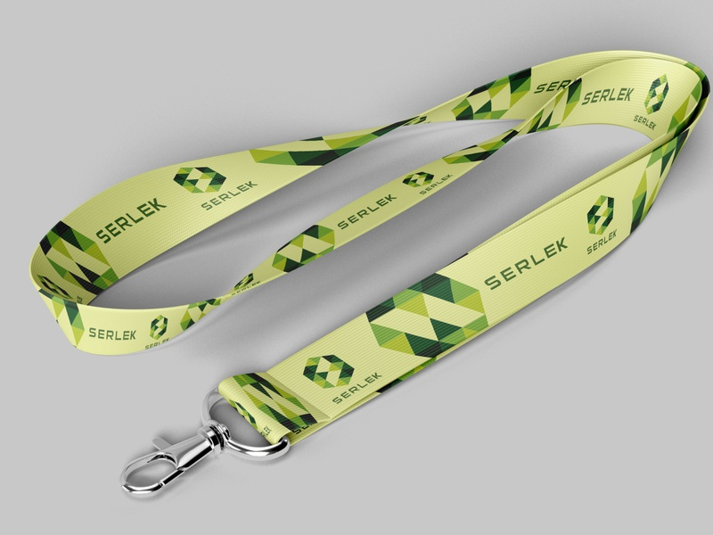 Serlek Lanyard Design identitydesign dribbble design dribbbleweeklywarmup dribbble art lanyard corporate identity design logo brand identity dribbble best shot branding adobe photoshop graphic design corporate identity design