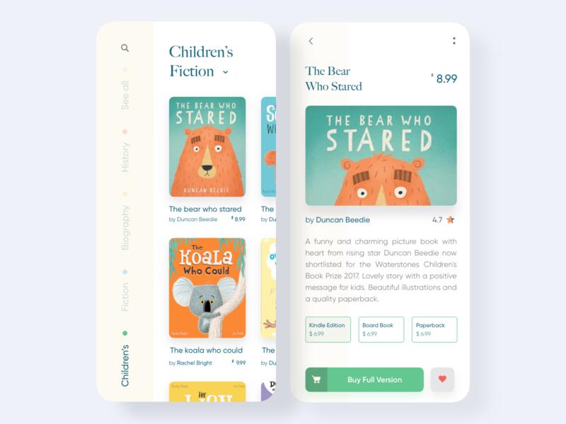 Debut Shot - Book Store App