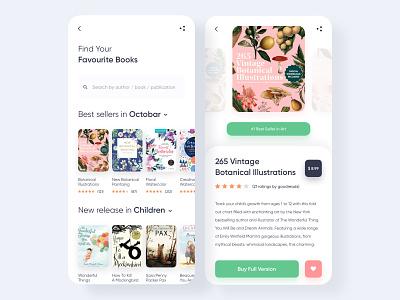 Book Store App Design book store webdesign website uxui uiuxdesign uiux mobileappdesign mobileapp mobile designer design book app book app ui appdesigner app design appdesign app