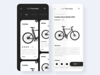 Bike Store Home Page & Single Product Page
