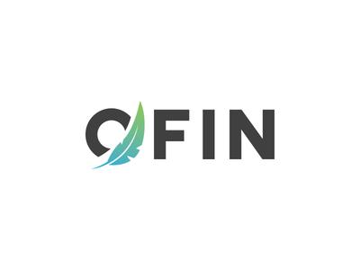 OFIN - Smooth Financial Services financial easy light smooth branding logo feather