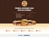 Burger Van Landing Page