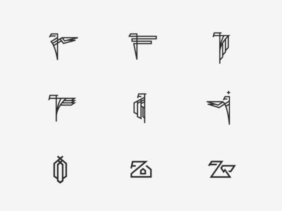 Rejected Logo Sketches (April 2019)