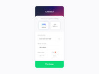 Daily UI #2 Checkout Page