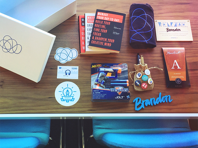 Salesforce UX Welcome Kit ux salesforce welcome box welcome kit