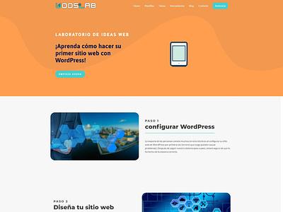 WoosLab   Laboratorio de ideas web photoshop wordpress uxdesign logodesign