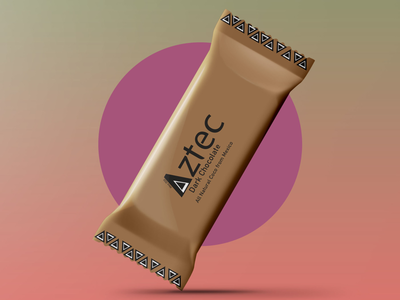 Chocolate bar mock up graphic