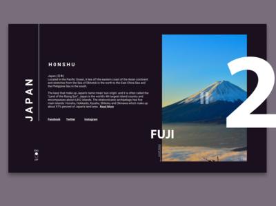 HONSHU FUJI MOUNT