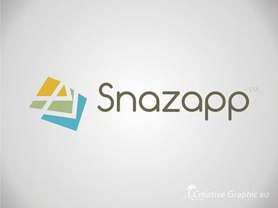 Logo Design, Snazapp corporate id vector logo design concept art branding graphic design
