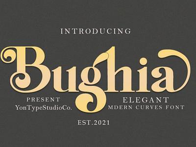 Bughia | Display Serif Font logo font branding font display serif font graphic design branding logo